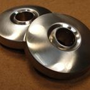 VIP 4 Jet Face Caps - Brushed Nickel Metal (BNM)