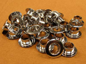 Chrome-Plated Round ABS Plastic