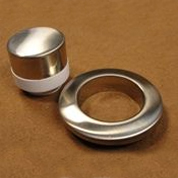 Pneumatic Control Component - Brushed Nickel Metal