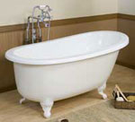 Gruber Systems Rectangular Drop-In Bathtub molds for cultured marble and solid surface casting