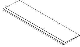 ADA compliant Gruber Universal shower ramps for use with Marshall-Gruber's Universal Shower Pan Molds