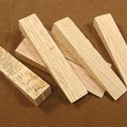hardwood mold wedges